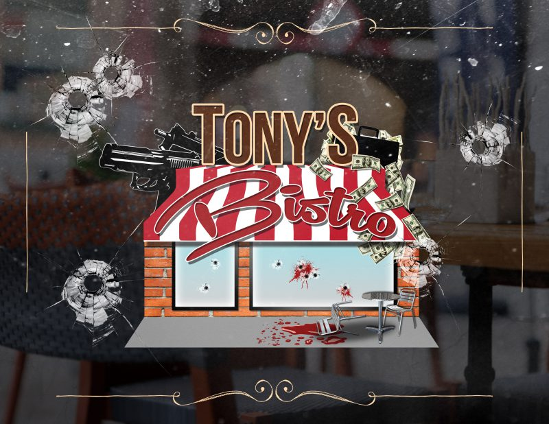 Tony's Bistro Escape Room Novi