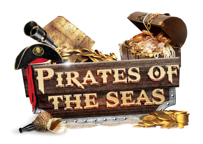 Pirates of the Seas Header Text